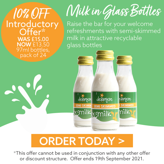 Milk in Glass Bottles - Introductory Offer
